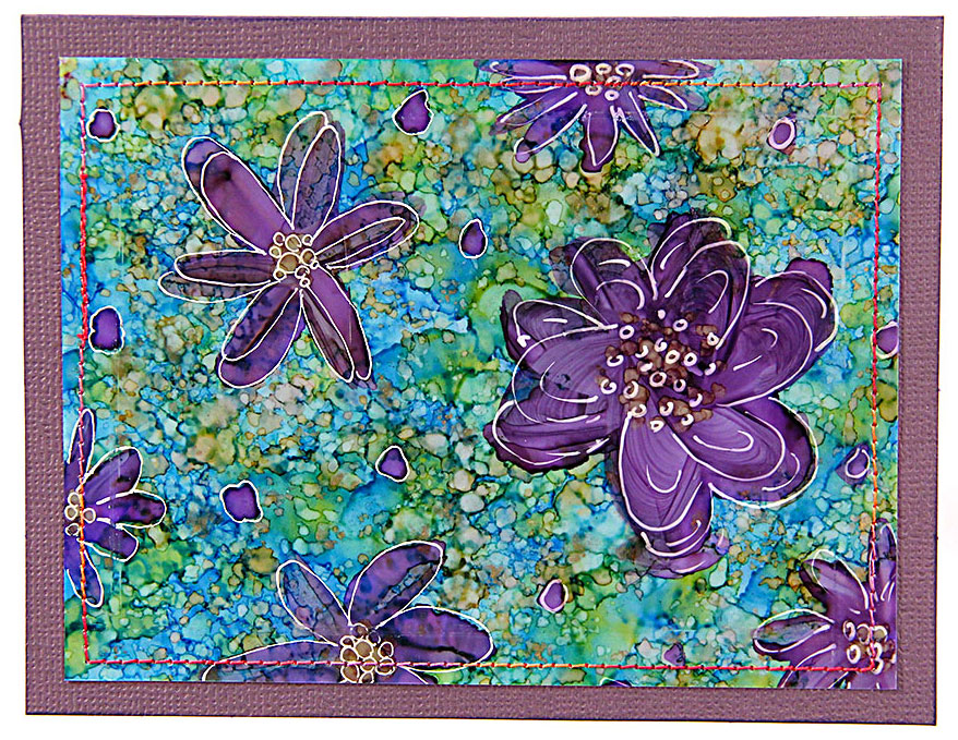 Alcohol-Ink-Purple-Flowers-Card-878x679px